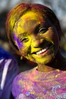 Holi Festival of Colours 23 by obviologist
