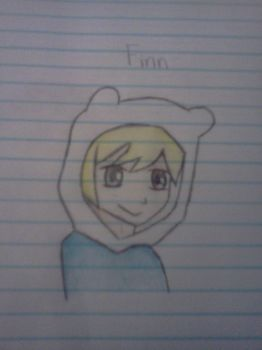 Finn the human by ironmanphantom