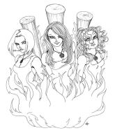 Burning Witches by Zanamaru