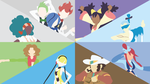 Unova Gym Leaders Comp. (White) by LimeCatMastr