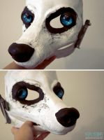 New resin canine blank by yeep-yeep