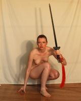 Nude With Sword 2 by chamberstock