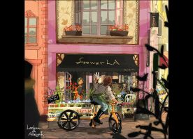 flower shop la by fukamatsu