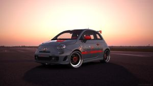 Fiat 500 Abarth 2 by RJamp