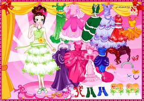 Doll dressup game by willbeyou