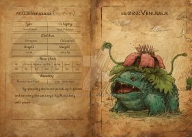 NO.3 Venusaur by Mummy-fei
