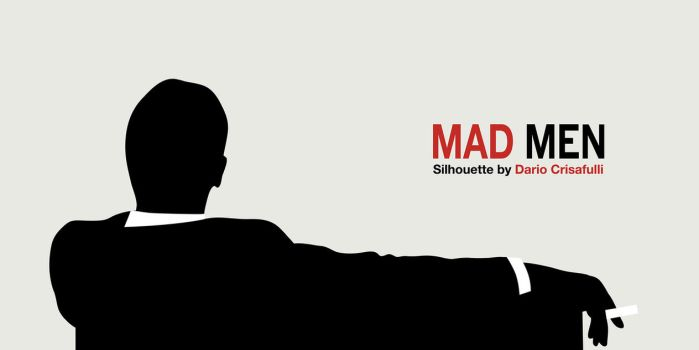 Mad Men Silhouette Vector by Dario1crisafulli