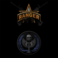 MW2 Ranger and TF141 Logos by jmkmets