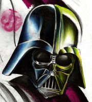 Darth Vader in progress by jerrrroen