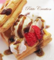 12th scale waffle plate by PetiteCreation