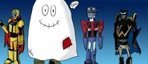 trick or treat- autobots by star-bot381
