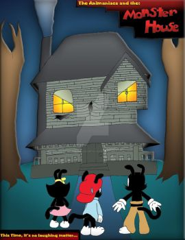 Warners and The MONSTER HOUSE by SonicandShadowfan15