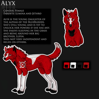 Alyx - Ref Sheet Commission by Krysiilys