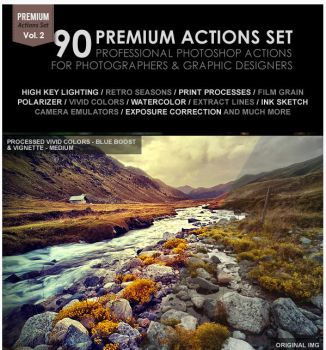 90 Premium Actions Set by newdesigns