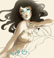 WIP//mermaid by Belliko-art