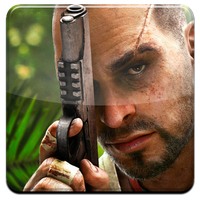 FarCry 3 HQ DOCK ICON PNG by Djblackpearl
