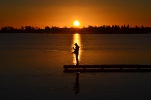 Fisherman Silhouette by KirstenARush