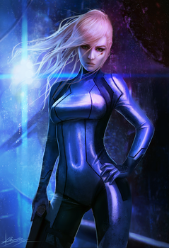 Samus by Dropdeadcoheed