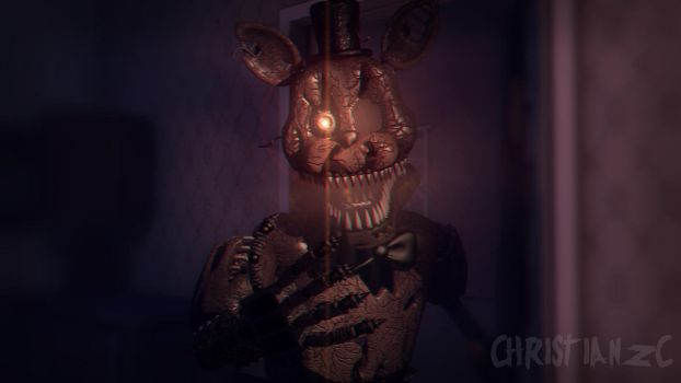 [C4D-FNAF] Nightmare christianZC Wallpaper by christianzc