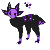 Toy Demon - Character Trade with Larvesta by Windup-Ghost