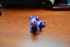 Noibat-Dragon by CraftDragons