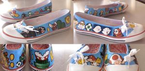 Mario shoes by apple-pai