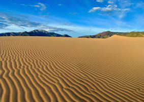 Wind Combed Dunes by RichardNohs