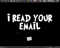 I read your email desktop by GeekGod4