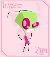 Invader Zim by StaleMuffins