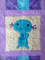 Wooper Quilt - Smiling Block by GraycilynTalor