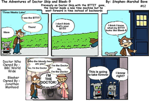 The Adventures of Doctor Skip Strip 12 by GreedLin