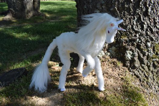 Unicorn Art Doll OOAK - Finished by Greenhorngal