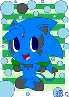 Gift: Zipo the Chao by Strikerwott12