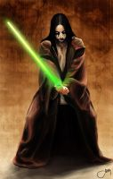 Phantom Jedi by Lisatz