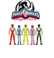 Power Rangers Dragon Force by Starartista87
