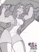Quickie commission-twcbs-She-Hulk's a REAL Wonder by LiquidMark
