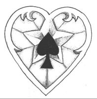 Heartstars n spades by monkeydeathcult