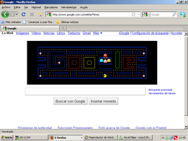Tribute from Google 4 Pac-Man by DJWill