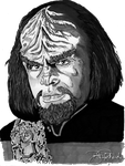 Worf by B-Richards