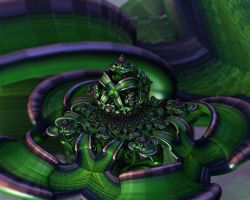 Green Wrappings by batjorge