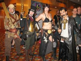 Steampunk Group Teaser by VynetteDantes