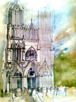 French Gothic Catedral by Cytrus