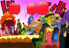 One Piece Chapter 864+ Germa 66 Vinsmoke Familly ! by Amanomoon