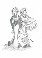The Princess and the Pauper by DeathHerself