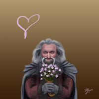 Hobbit Valentines ~ Oin by Contraltissimo