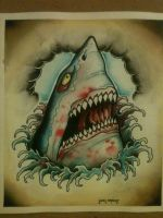 great white by J1M1AMMO