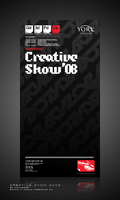 Creative Show 2008 Poster V.2 by spooned12000rpm