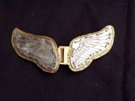 Wing Cloak Clasp by Imbrium66