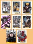X-Men Origins Wolverine Cards C by tonyperna
