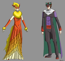 Aerin and Korbin Masquerade reference by Miss-Arcadia